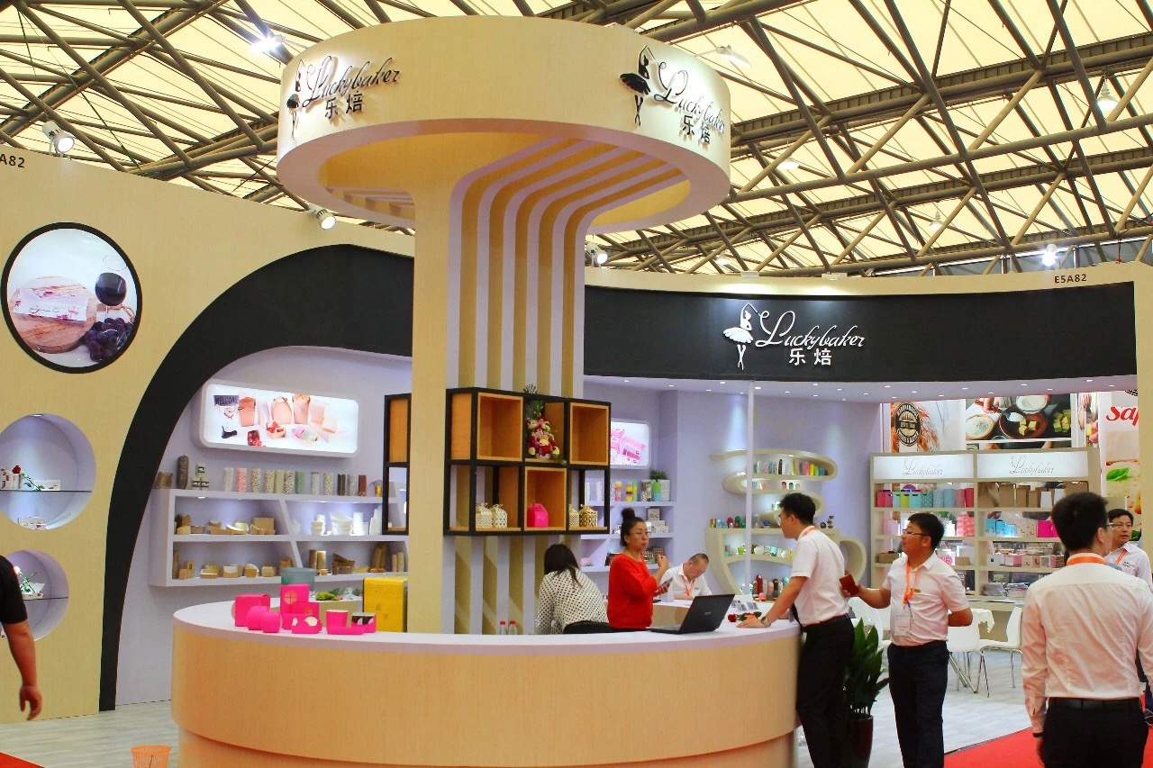 Dalian Luckybaker at the 20th International Baking Exhibition in Shanghai