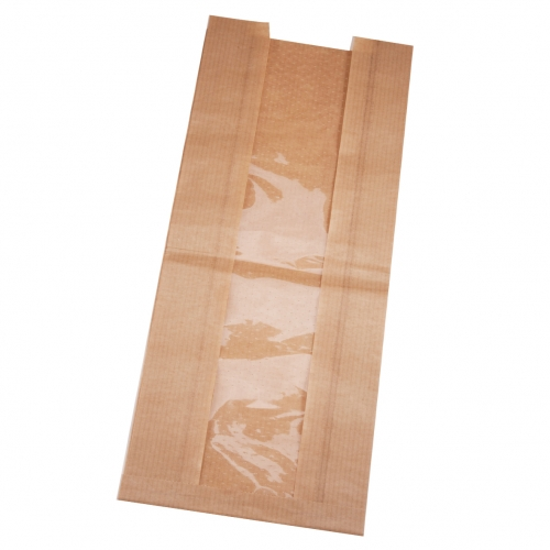 Heat-sealing paper bag