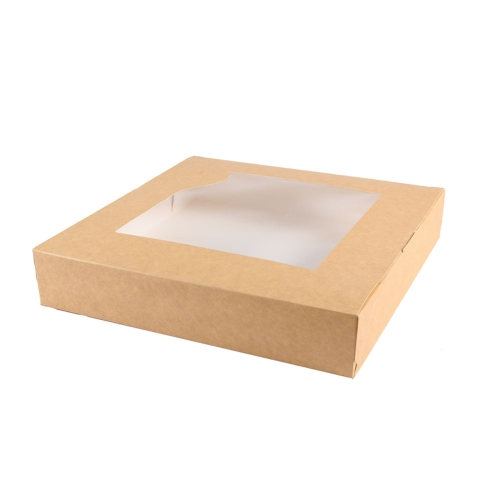 Cake box with window