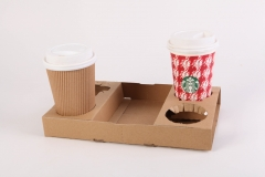 Coffe cup tray