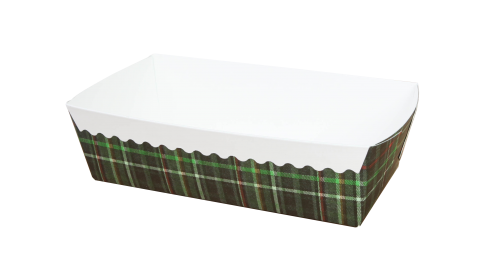 Edge folded packaging box