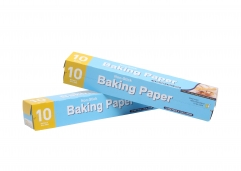 White baking paper in roll